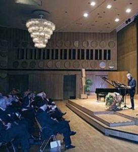 Laudator Bernd Kauffmann (ehemaliger Präsident der Klassik Stiftung Weimar)