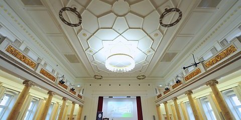 Festsaal der Leopoldina (Foto: dpa)