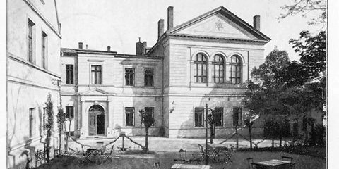 Logenhaus in Bernburg (früher)