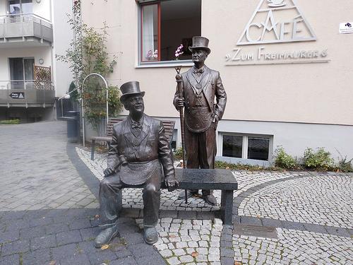 Café zum Freimaurer in Quedlinburg (Foto: Flickr)